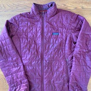 Patagonia Nano Puff Jacket Purple/Magenta Size XL